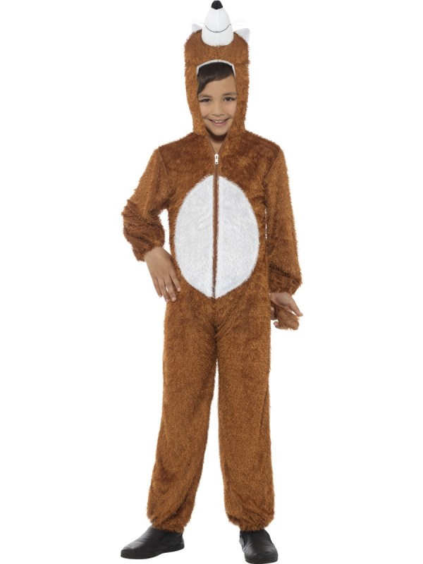 Fox Costume Storybook Animal Fancy Dress Mega