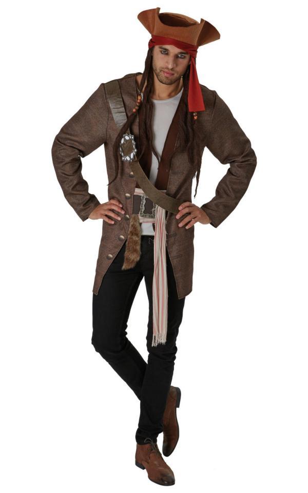 Jack Sparrow Adult' Costume Pirate Costumes Mega Fancy Dress