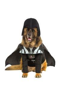 Darth Vader Dog Costume   Star Wars Fancy Dress Costumes ...