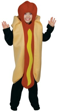 Kid's Hot Dog Costume | Boys Fancy Dress Costumes | Mega ...