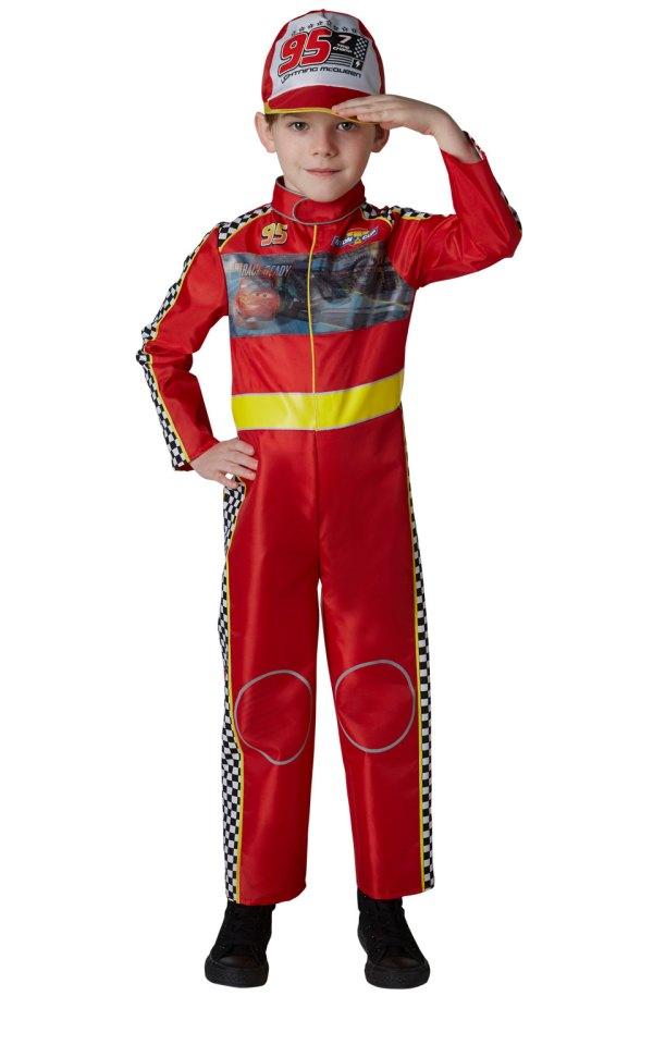 Lightning Mcqueen Cars 3 Boys Costume Tv Book And Film