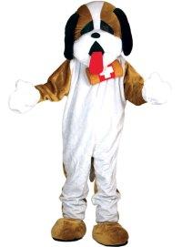St Bernard Dog Mascot Costume