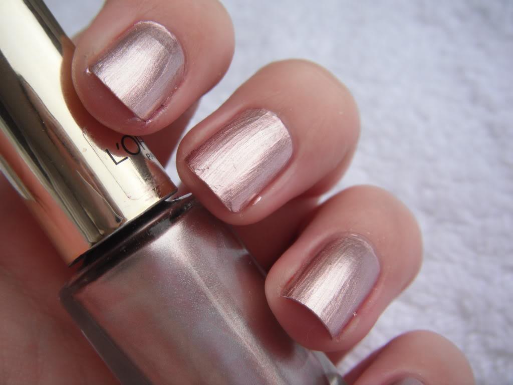 Sentinel Loreal Paris Color Riche Nail Varnish Easy Application 818 Sweet Amethyst