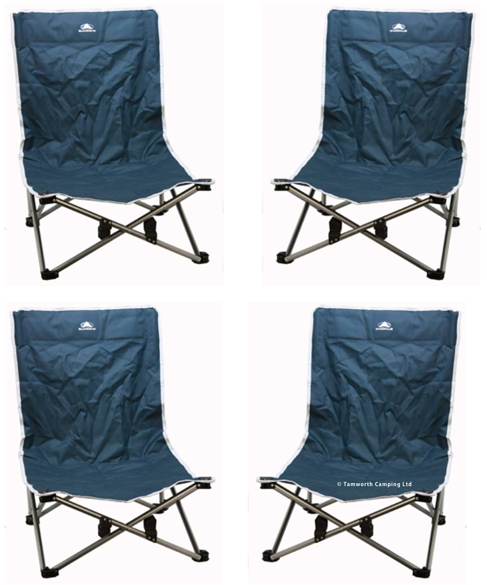 folding low beach chair desk staples sunncamp steel for camping