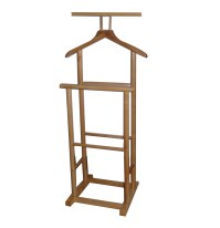 New Single Double Coat Clothes Valet Butler Garment Stand ...