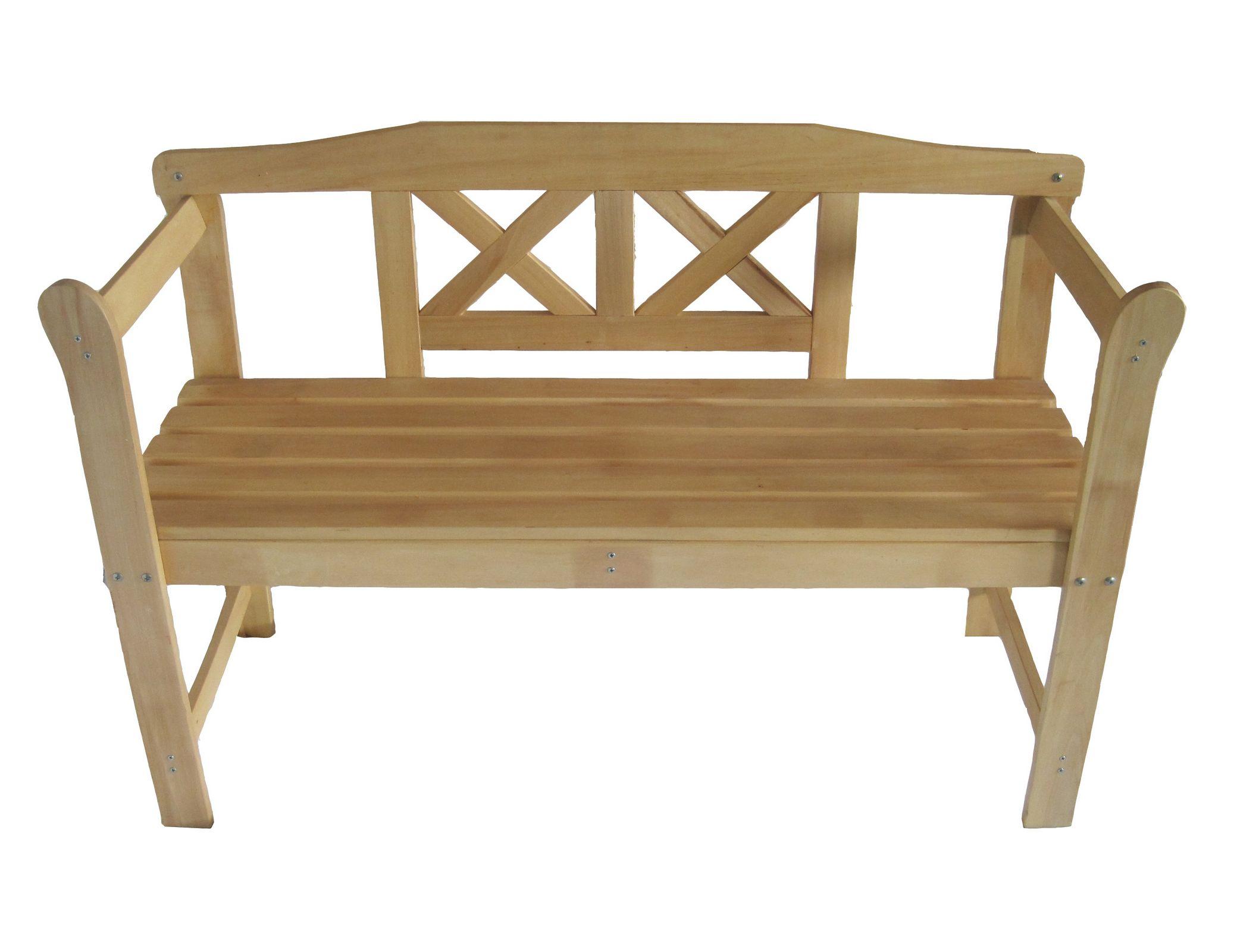 Outdoor Home Wooden 2 Seat Seater Garden Bench Furniture