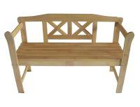 Outdoor Home Wooden 2 Seat Seater Garden Bench Furniture ...