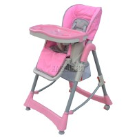 Foldable Baby High Chair Recline Highchair Height ...