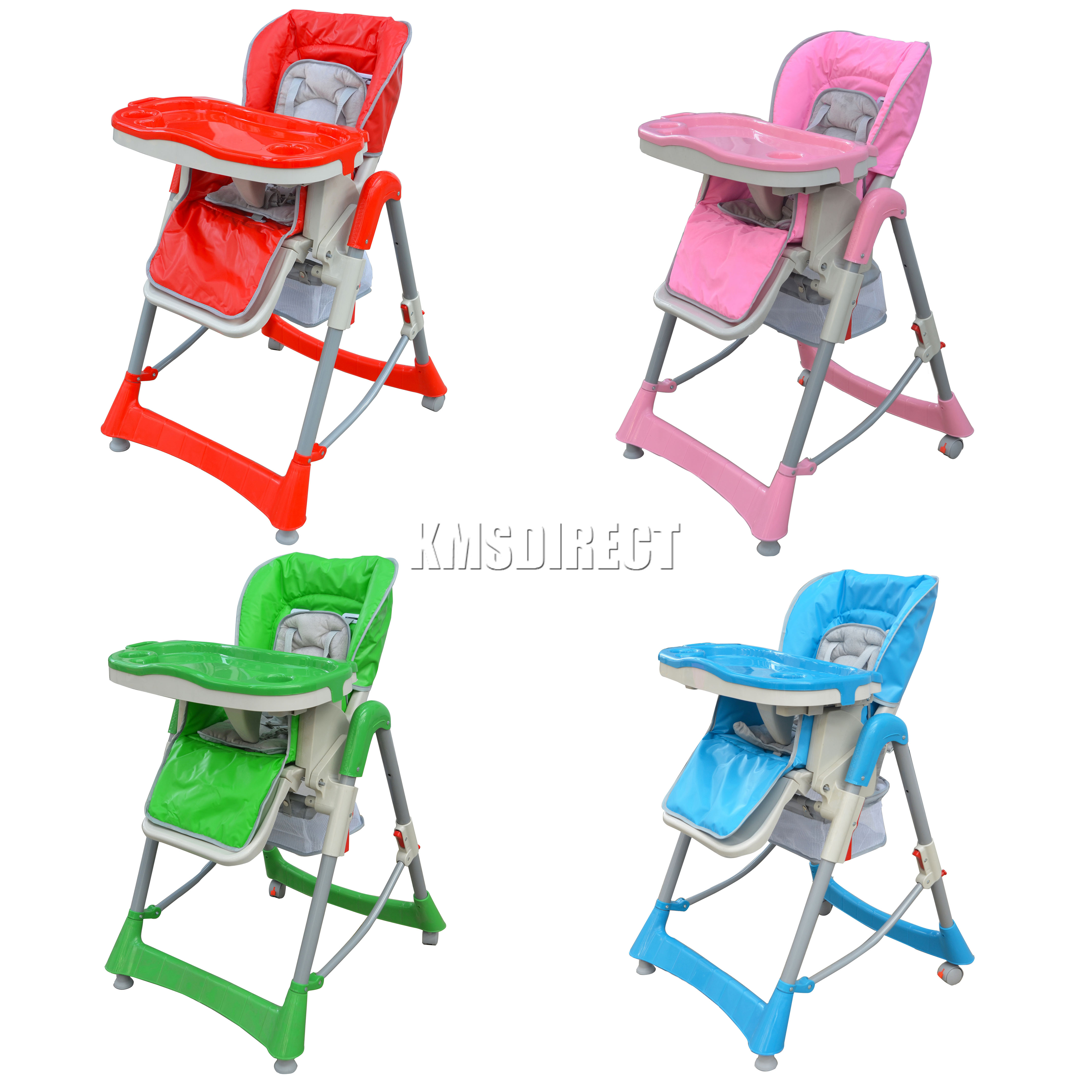 foldable high chairs chair cover hire mornington peninsula baby recline highchair height