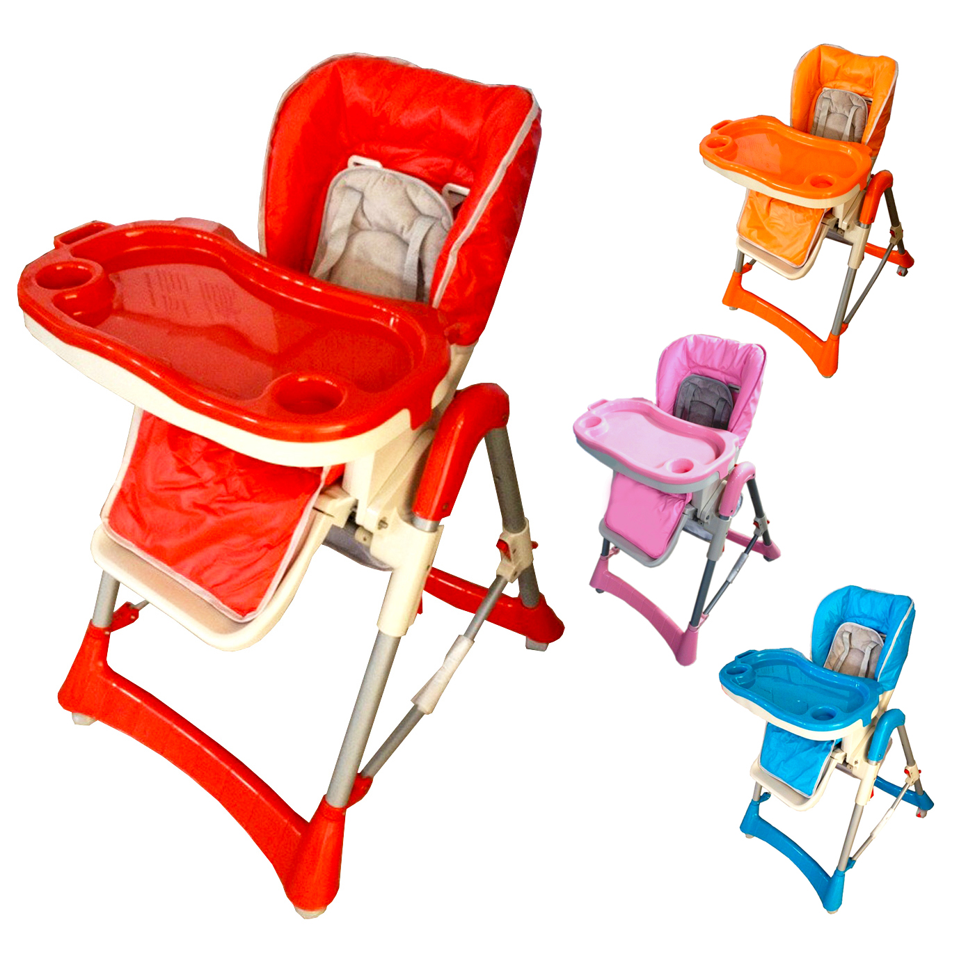 High Chair Deals Height Adjustable Baby High Chair Recline Highchair