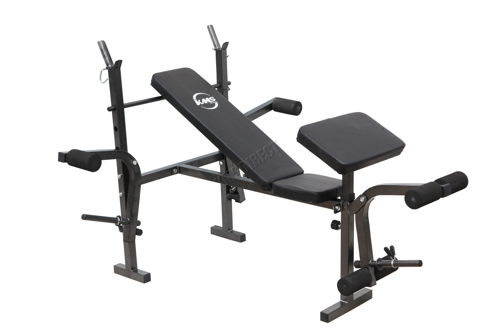 gym bench press chair office cheap foldable home fitness weight lifting arm