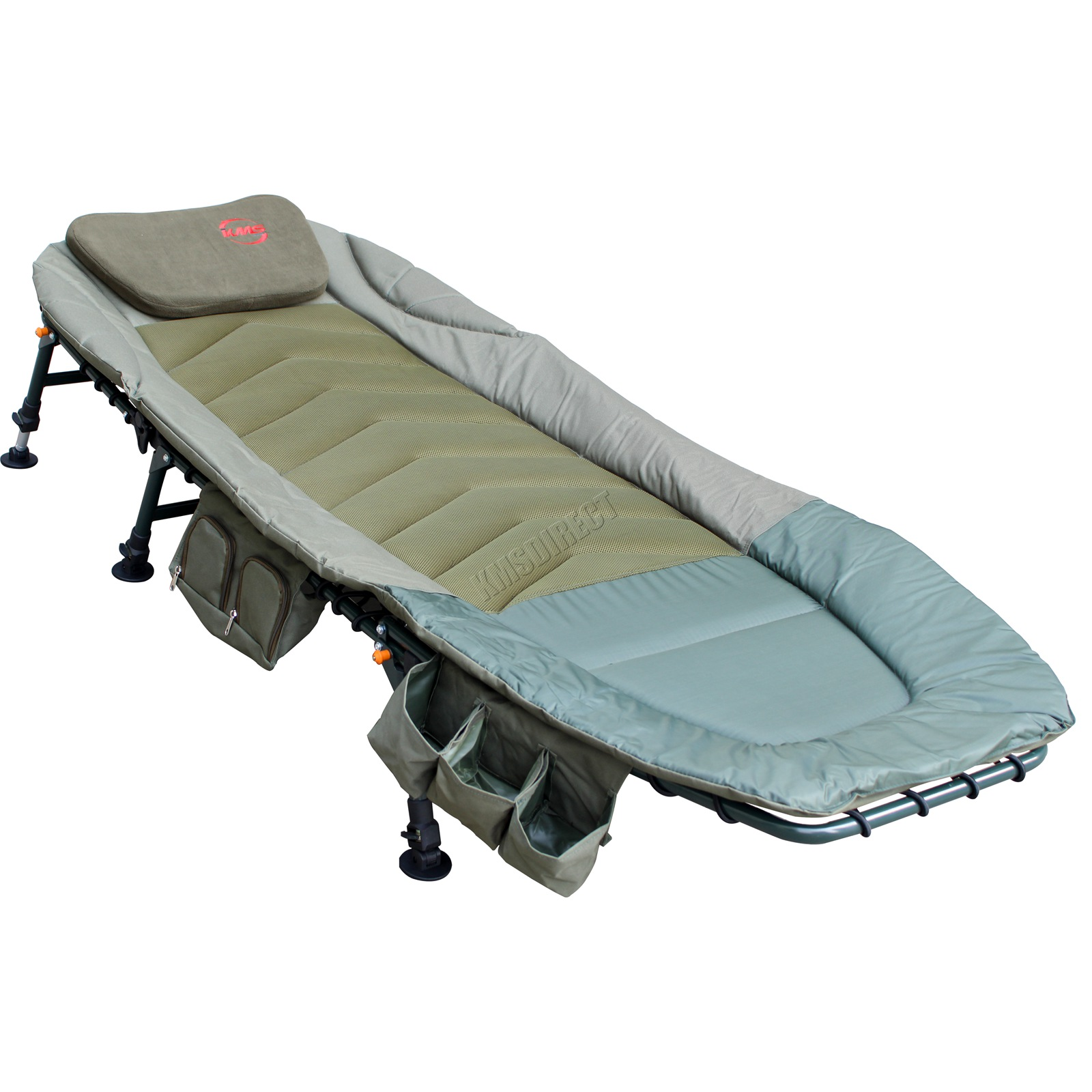 fishing bed chair used beach layout chairs bedchair camping 6 adjustable legs tool