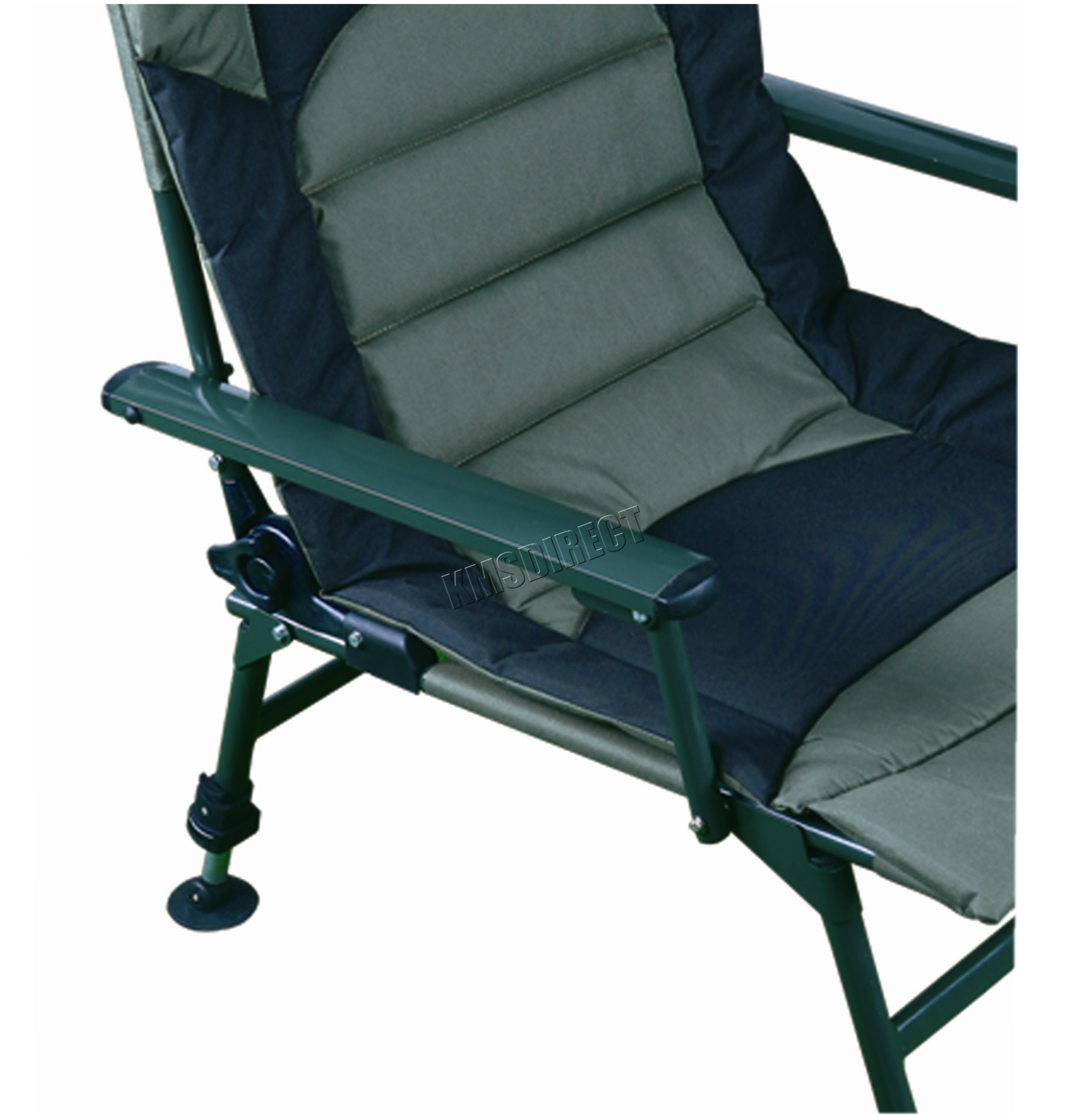 fishing chair best price gym reviews xl carp arm rests folding camping recliner 4