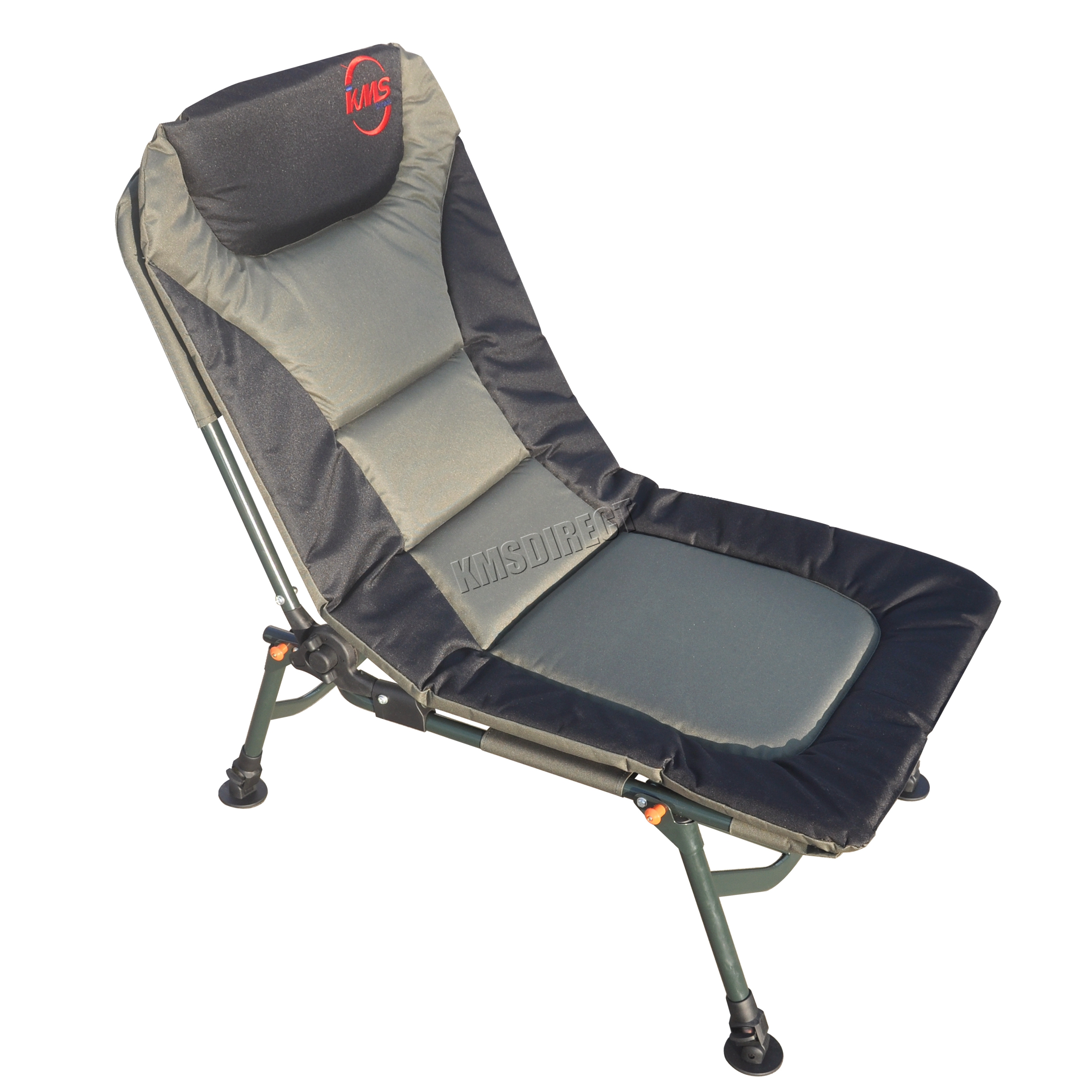 Outdoor Folding Fishing Chair Camping Recliner 4