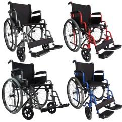 Wheelchair Ebay Folding Wrought Iron Chairs Foxhunter Lightweight Self Propelled Transit