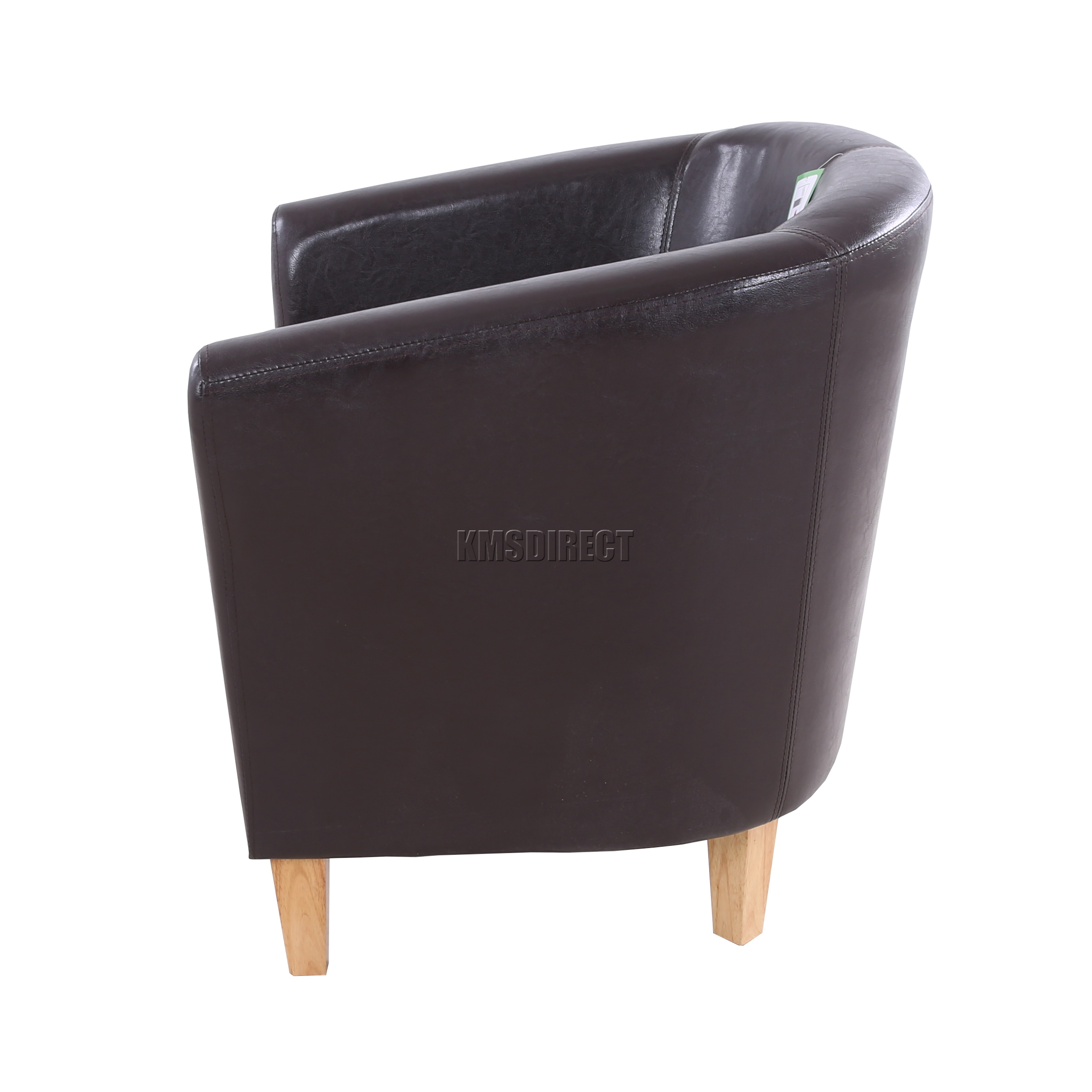 tub chair covers ebay office depot task foxhunter armchair faux leather dining room
