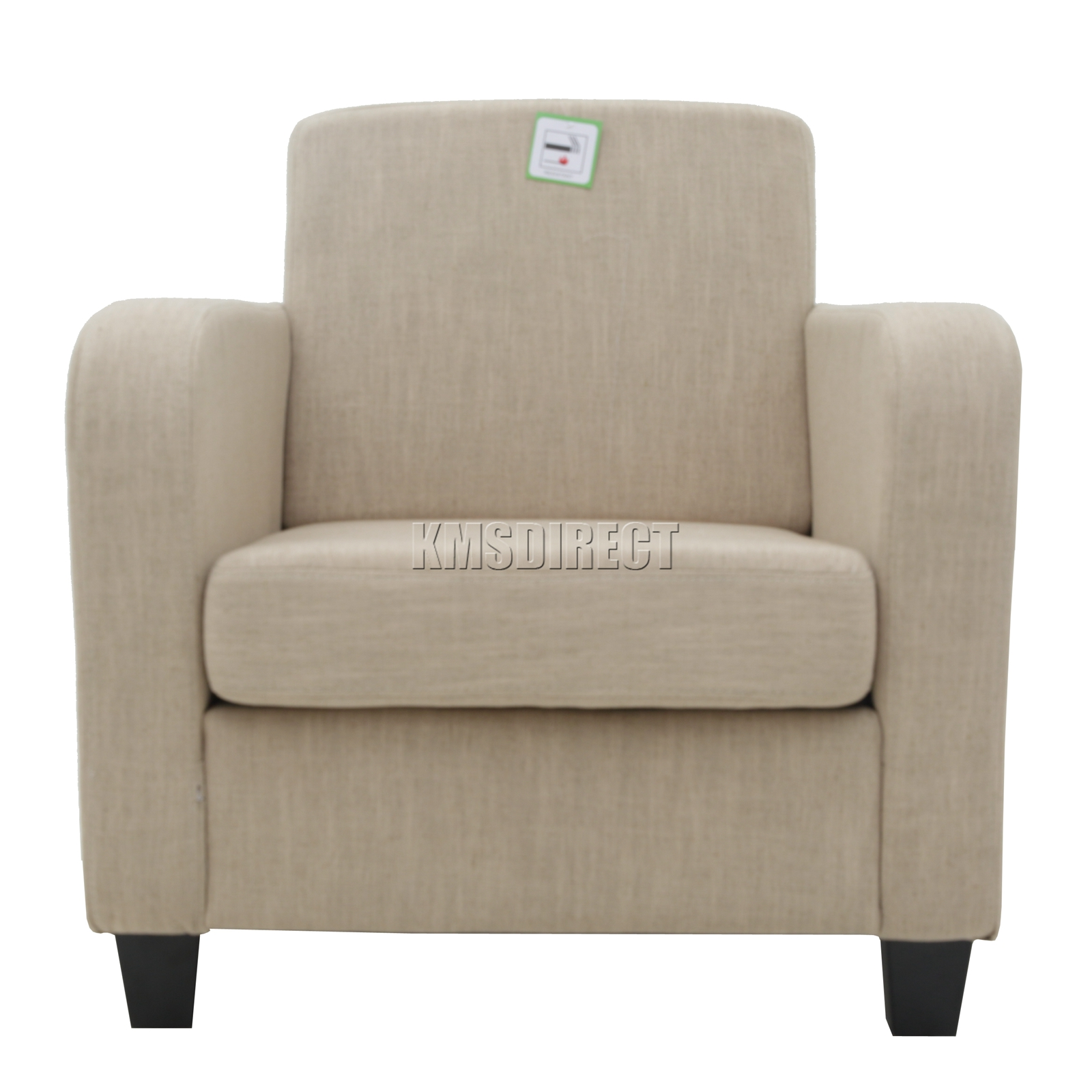 tub chair covers ebay computer gaming foxhunter cream linen fabric armchair dining