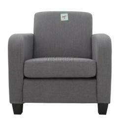 Tub Chair Grey Nursery Rocker Uk Foxhunter Armchair Linen Fabric Dining Living