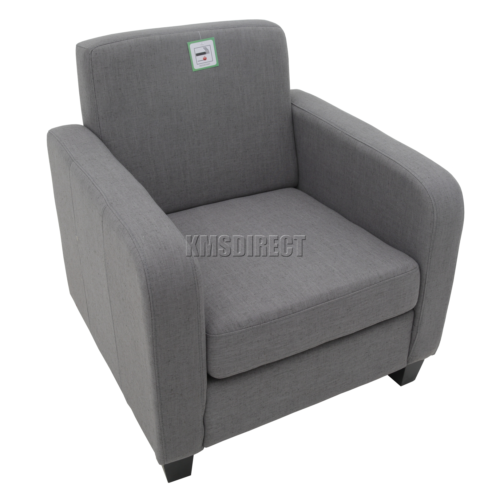 tub chair grey wunda accessories foxhunter armchair linen fabric dining living