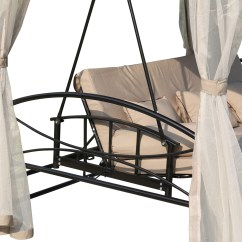Swing Chair Deals Gray Dining Chairs Target Foxhunter Garden Hammock 3 4 Seater Bench Bed