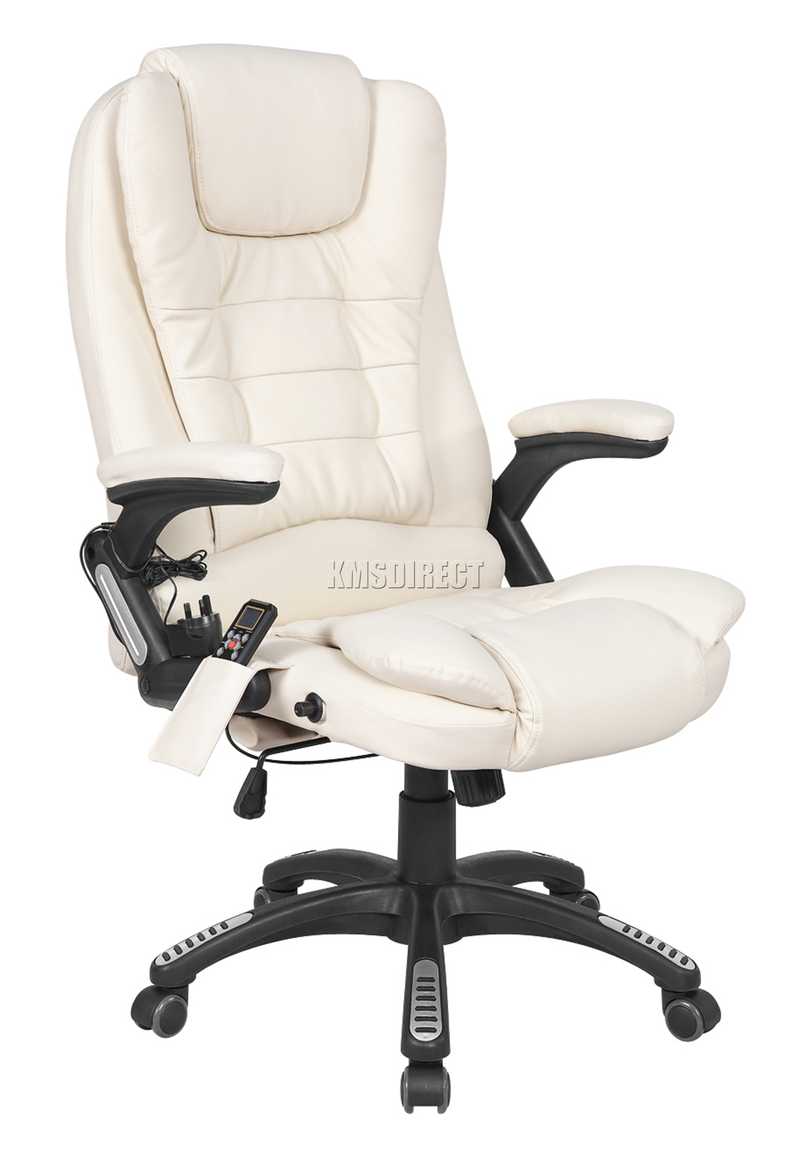 Recliner Computer Chair Westwood Heated Massage Office Chair Leather Gaming