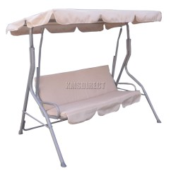 Swing Chair Metal S Replica Foxhunter Fhsc01 Garden Hammock 3 Seater
