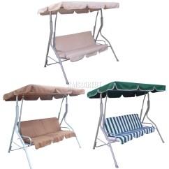 Swing Chair Metal Folding On Amazon Foxhunter Fhsc01 Garden Hammock 3 Seater