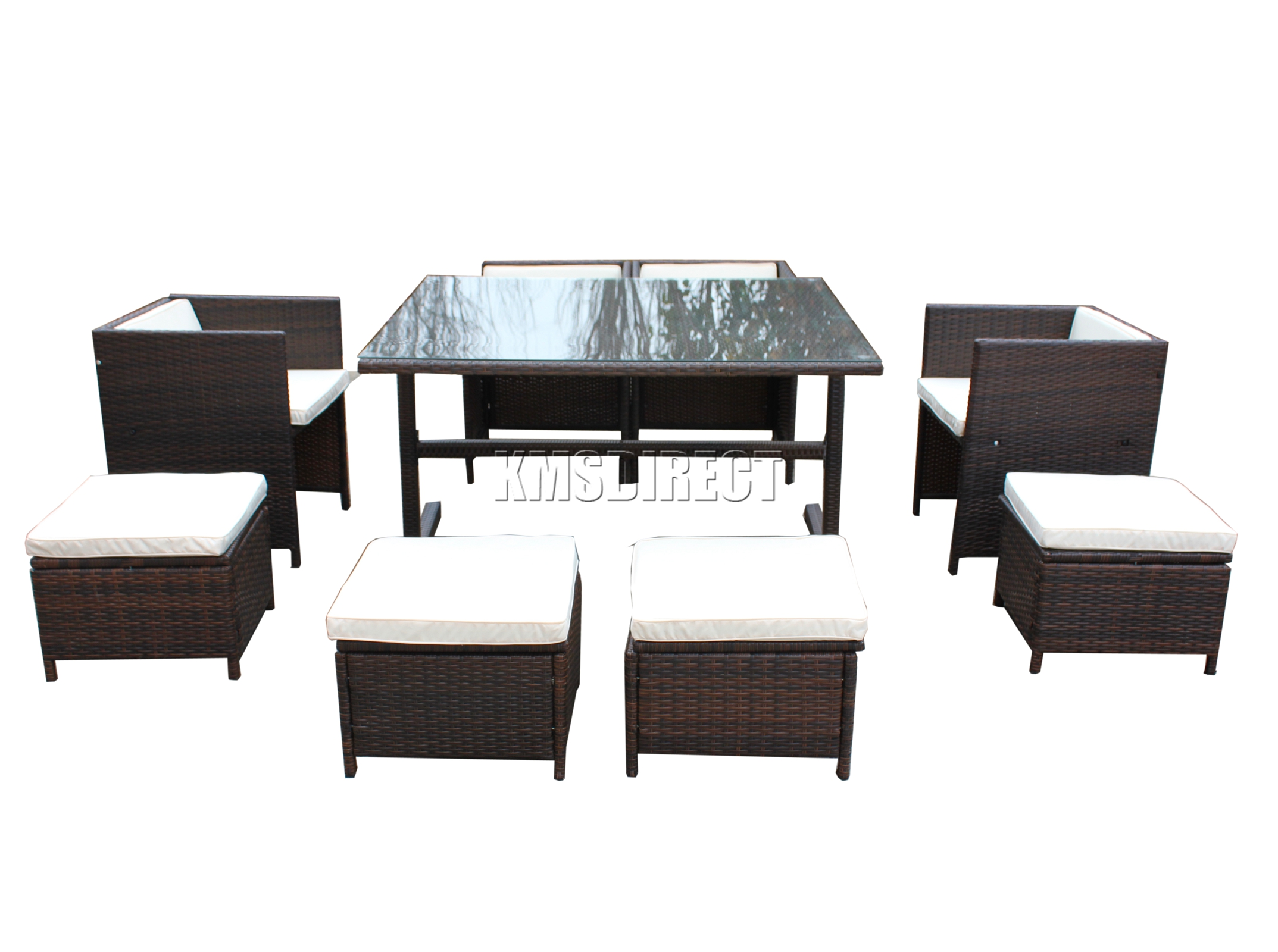 Spare Repair Rattan Furniture Set Table Garden Patio