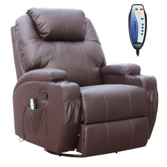 Reclining Massage Sofa High End Sofas Foxhunter Bonded Leather Recliner Chair Cinema
