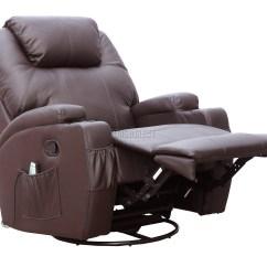 Massage Chair With Heat Wheelchair Market Foxhunter Bonded Leather Recliner Cinema