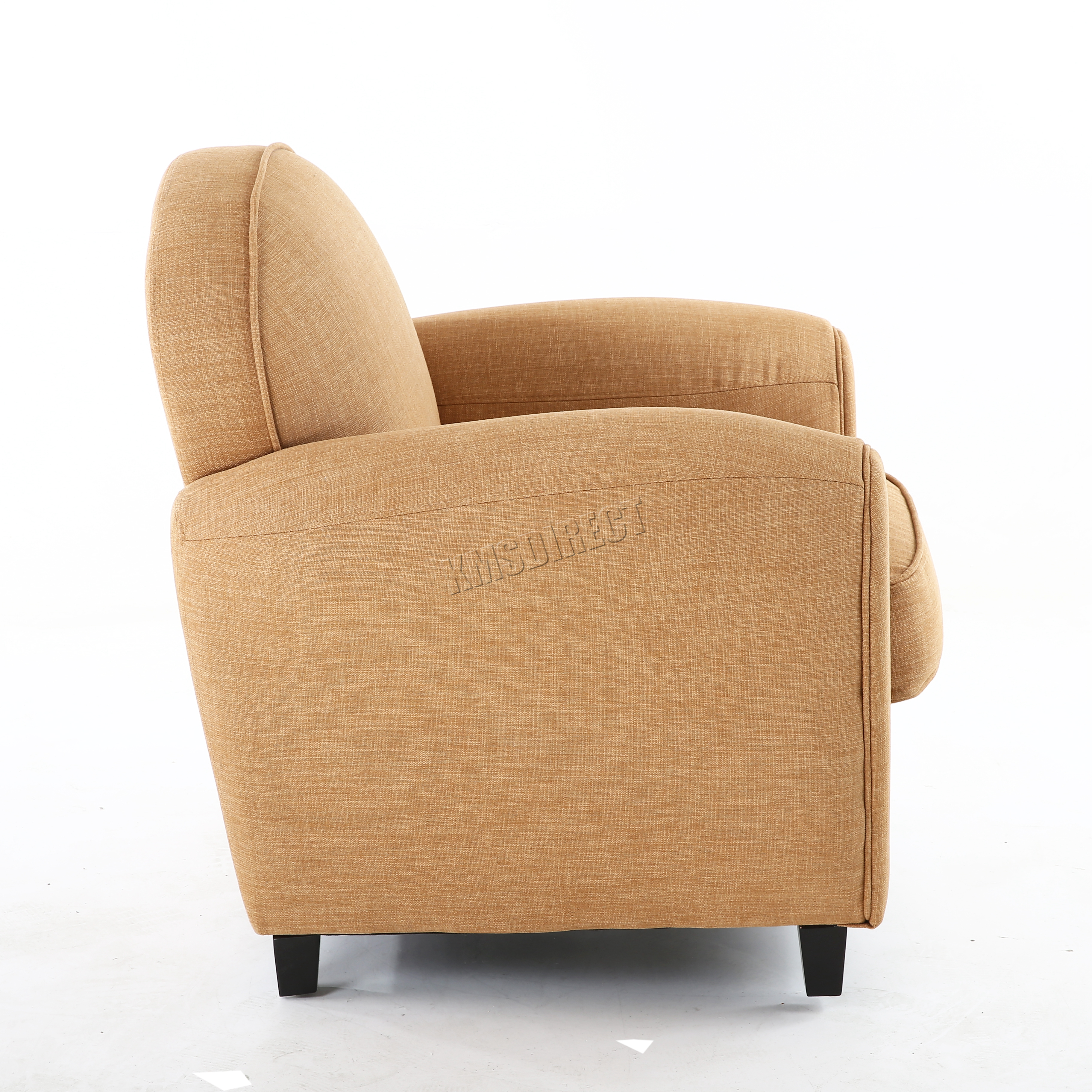 tub chair covers ebay stool for camping foxhunter linen fabric armchair 2094 sofa dining