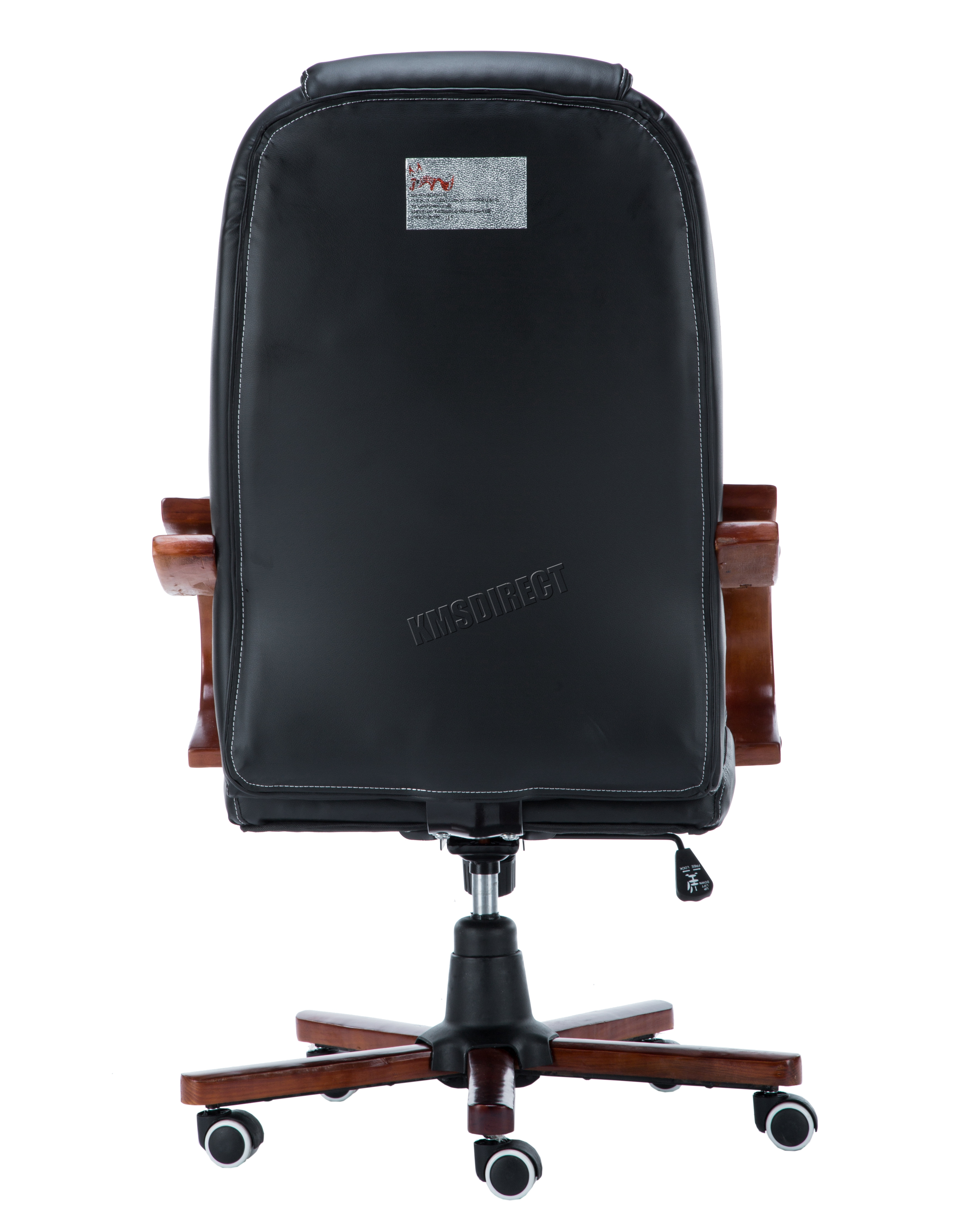 office chair not on wheels acorn lift westwood computer executive desk pu leather