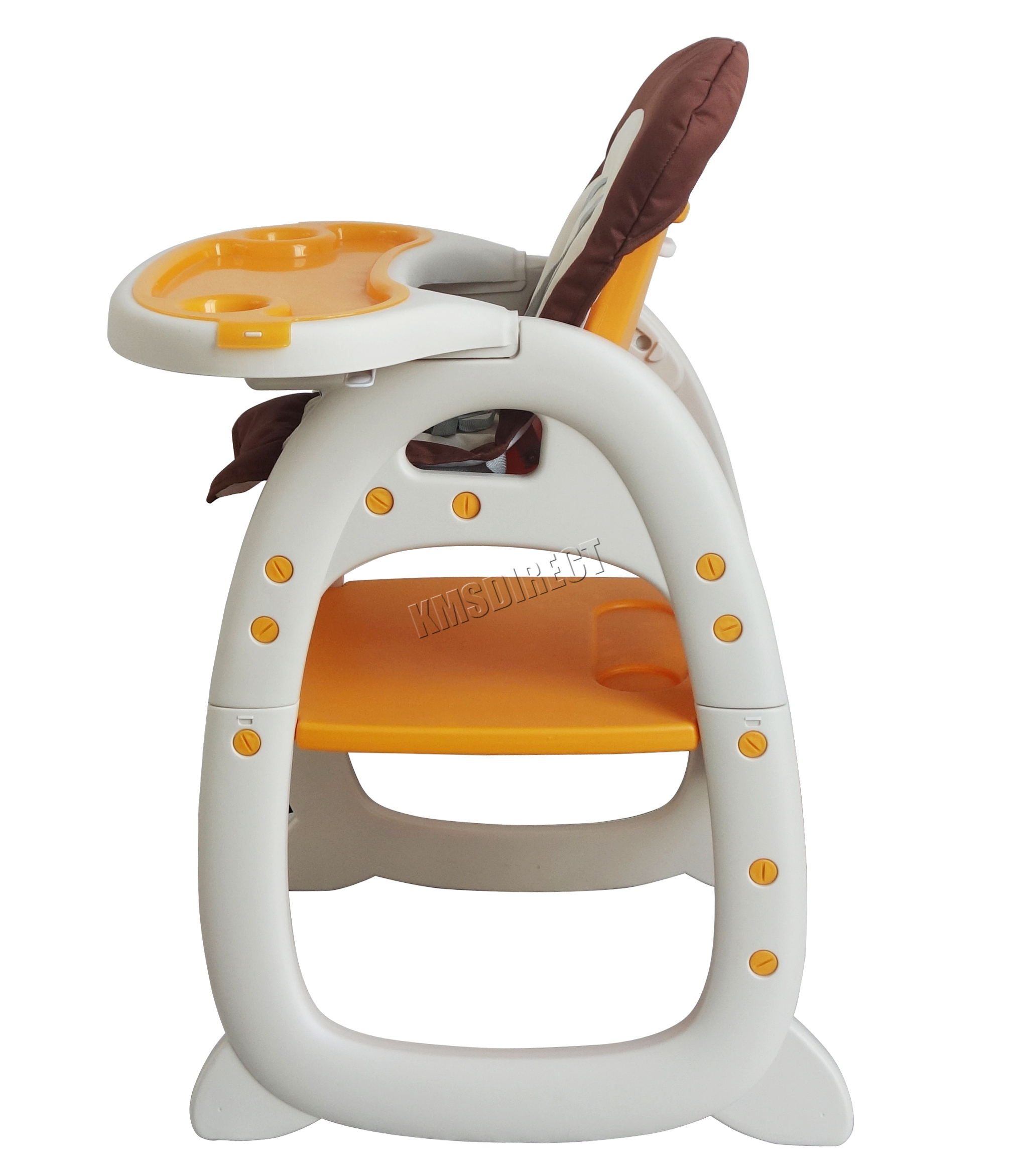 baby highchair 3 in 1 round swivel chair for sale foxhunter infant high feeding seat 3in1