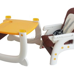 Baby Feeding Chairs Makro Wood Club Chair Foxhunter Highchair Infant High Seat 3in1