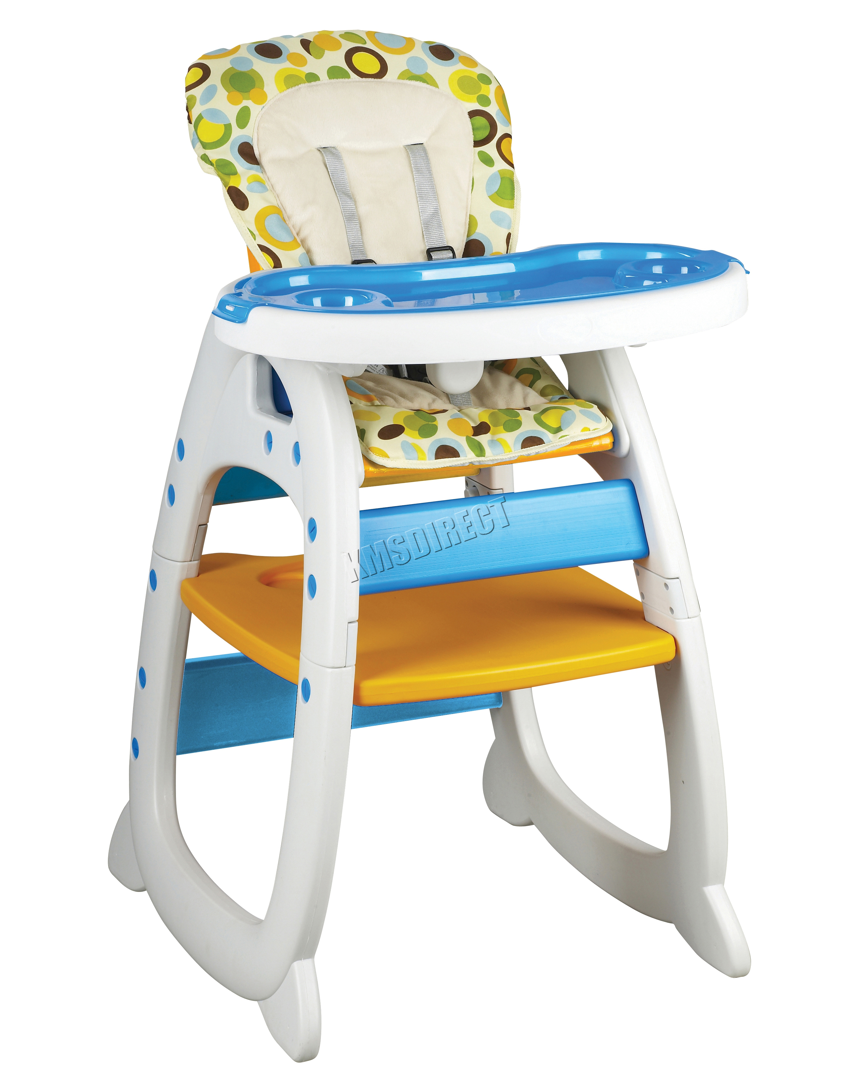 wooden baby high chairs uk large bean bags foxhunter highchair infant feeding seat 3in1