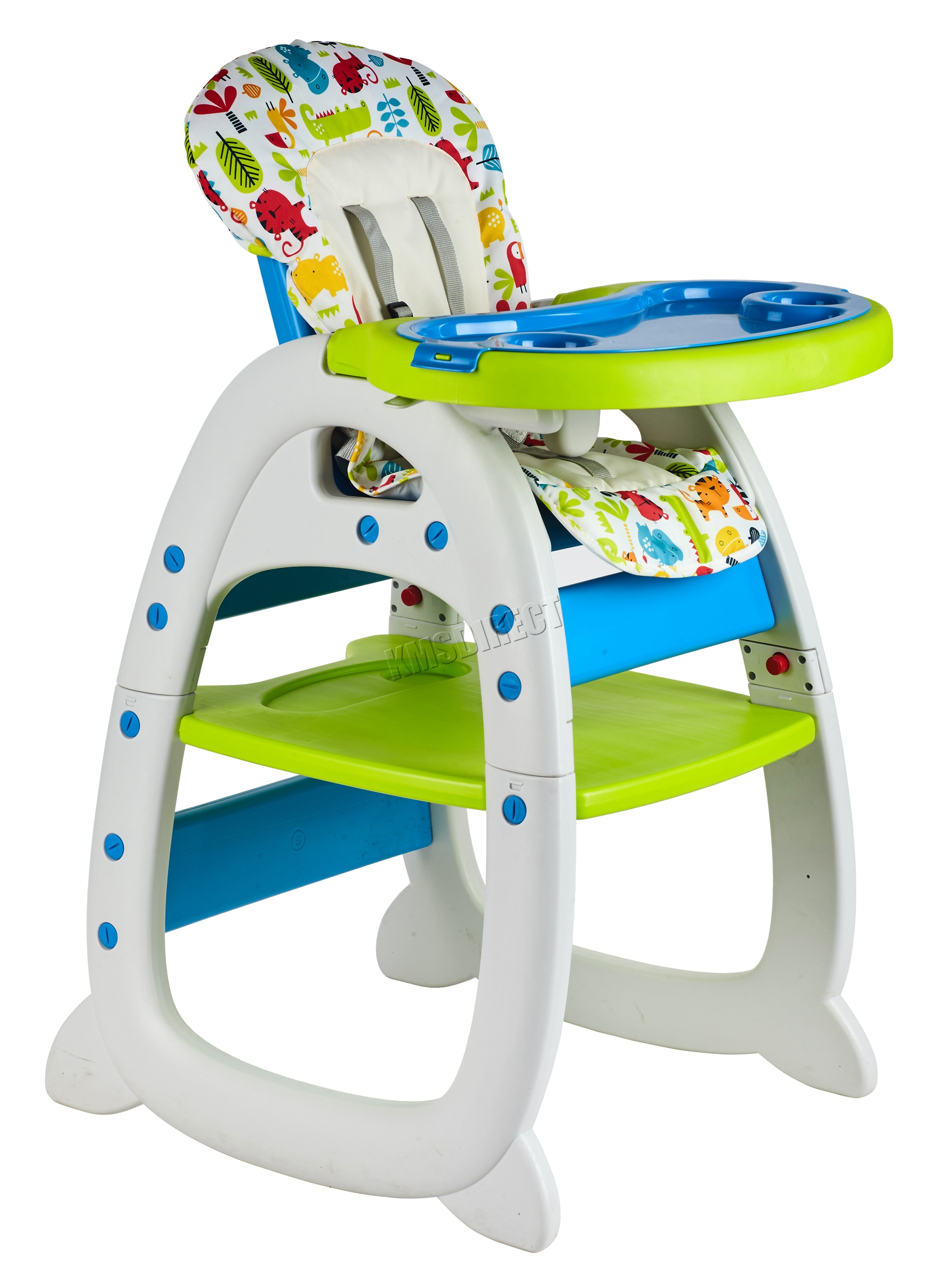 Baby High Chair Foxhunter Baby Highchair Infant High Feeding Seat 3in1