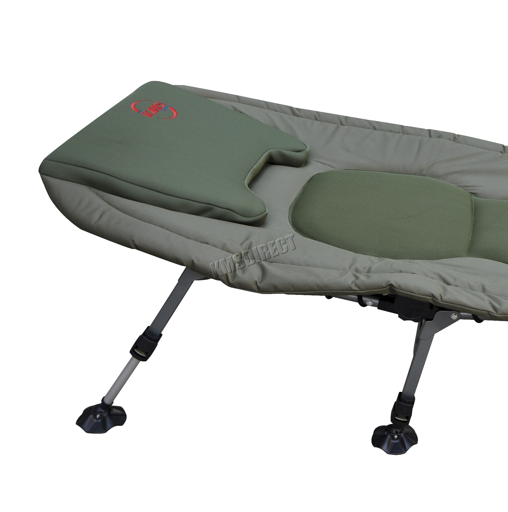 fishing bed chair used folding outlet portable carp bedchair camping 6