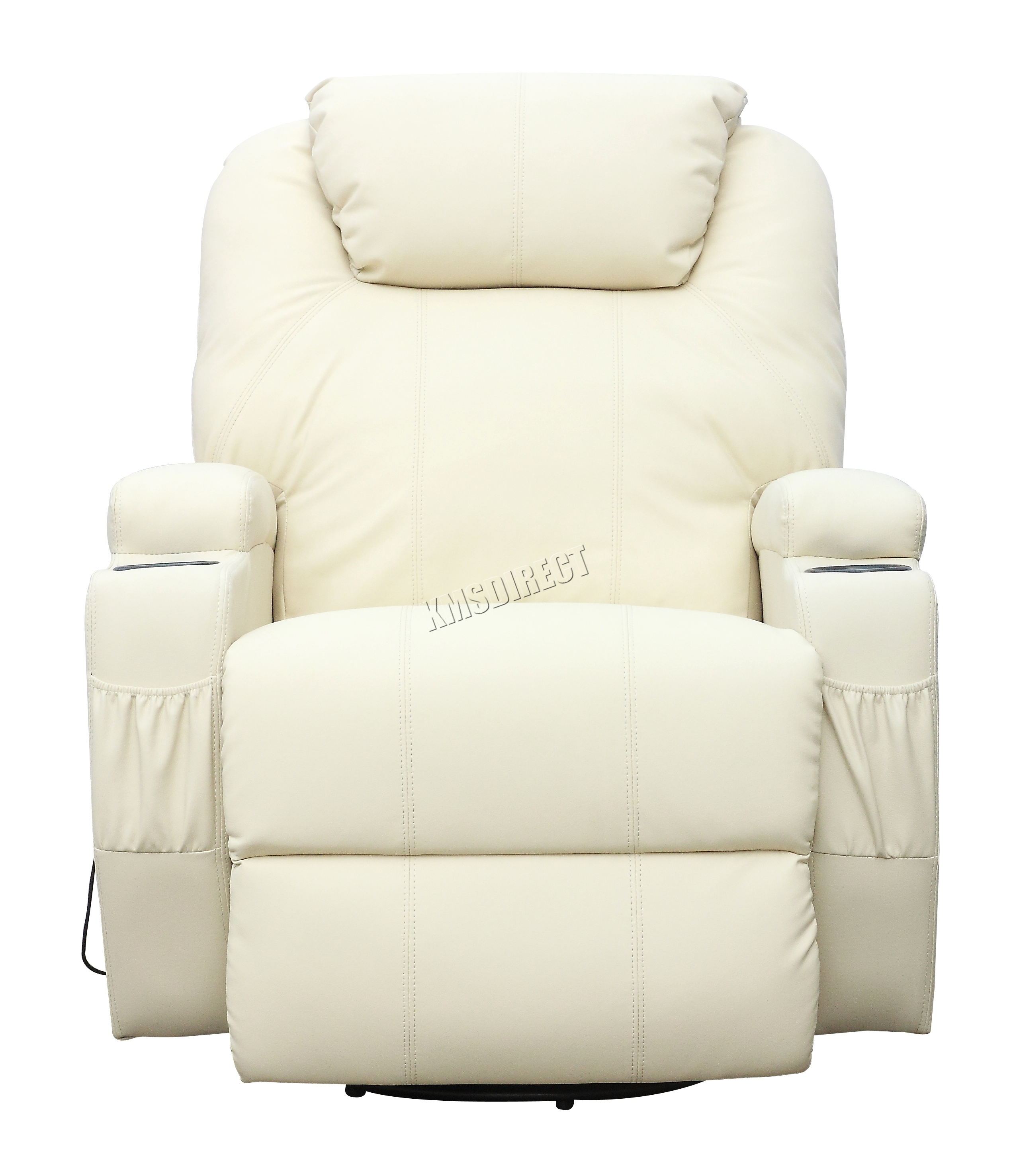 reclining massage sofa prestige furniture foxhunter bonded leather recliner chair cinema