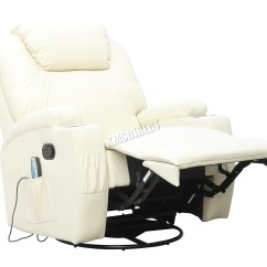 Reclining Massage Sofa Fabric Corner Sofas Pay Monthly Foxhunter Bonded Leather Recliner Chair Cinema