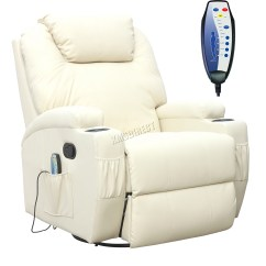 Sofa Rocking Chair Covers Dust Mites Foxhunter Bonded Leather Massage Recliner