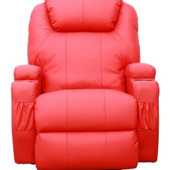 Sofa Rocking Chair Fabrics Online Malaysia Foxhunter Bonded Leather Massage Recliner