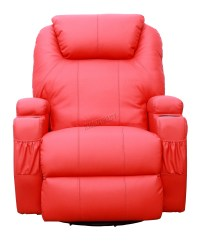 FoxHunter Bonded Leather Sofa Massage Recliner Chair ...