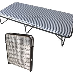 Fold Out Chairs Walmart Steel Chair Price In Delhi Foxhunter Single Metal Folding Guest Visitor Compact Bed