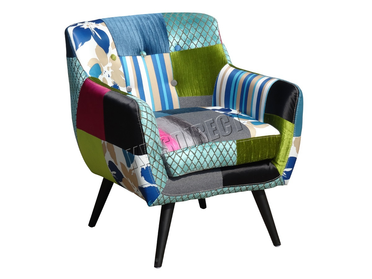 tub fabric accent chair patchwork best kitchen table and chairs westwood vintage armchair seat