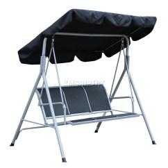 Swing Chair Metal Rocking On Sale Foxhunter Garden Hammock 3 Seater Bench