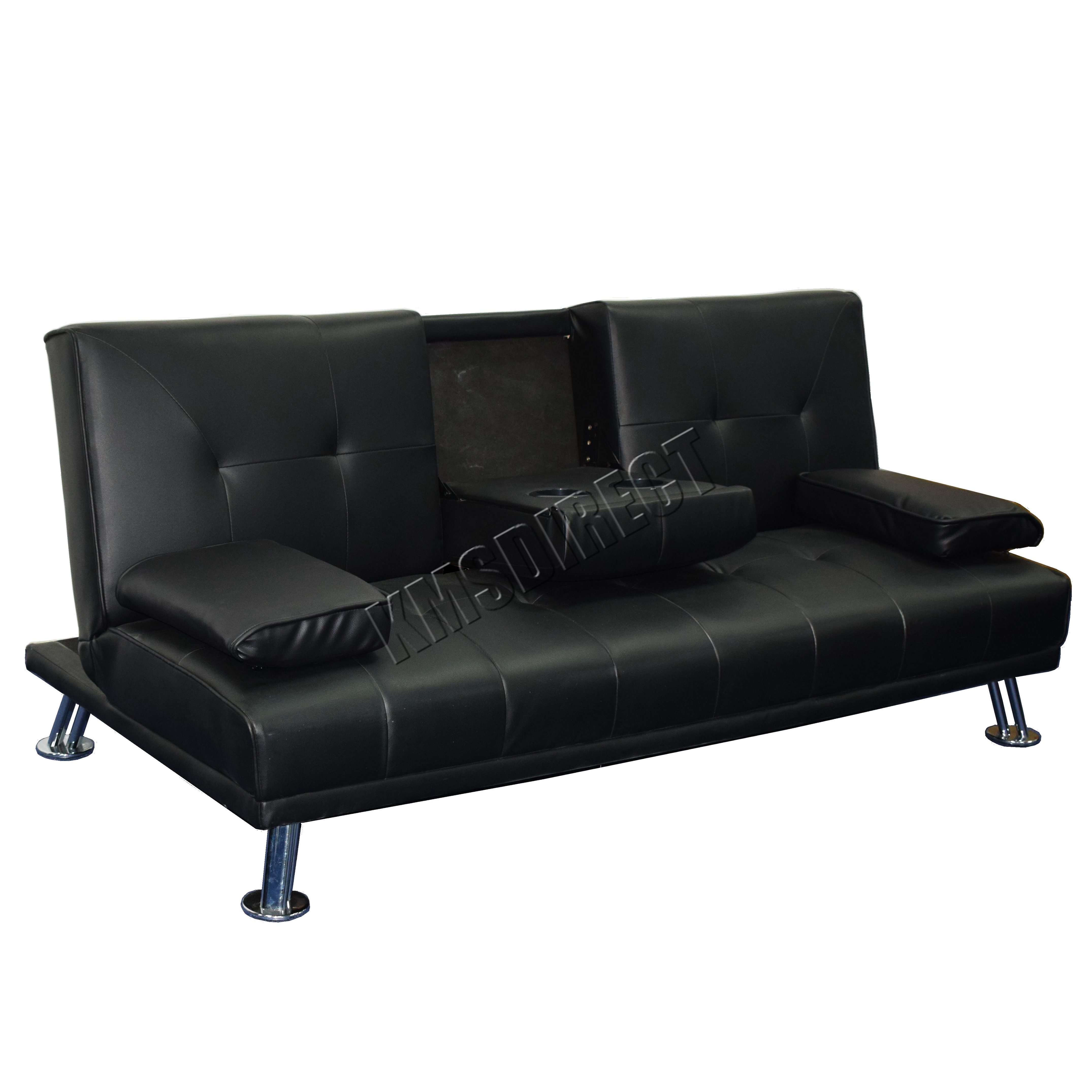 next day sofas customer reviews cheap black leather for sale westwood faux manhattan sofa bed recliner 3 seater
