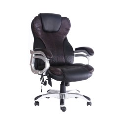 Office Chair With Massage Pod Ikea Westwood Luxury 6 Point Computer
