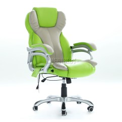 Green Computer Chair Covers For Sale Adelaide Foxhunter Luxury 6 Point Massage Office