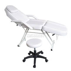 Beauty Salon Chairs Images Slipcovers For Oversized And Ottomans Foxhunter Chair Massage Table Tattoo Therapy Couch Bed Sentinel Stool White
