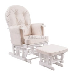 Toddler White Rocking Chair Swing Cape Town Foxhunter Nursing Glider Maternity With